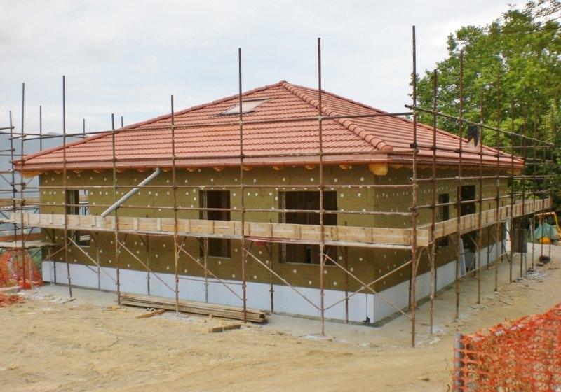 Casa unifamiliare in legno