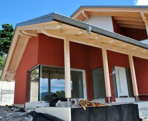 Casa legno Priò